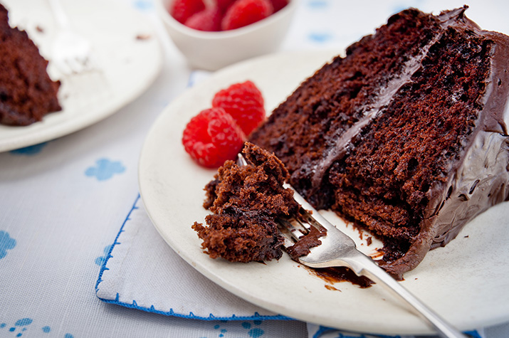 Super-Moist Chocolate Mayo Cake
