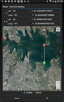 Screenshot of Sailtracker Polar AIS NMEA