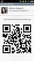 Screenshot of CardSharing