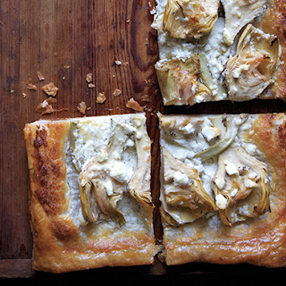 Artichoke and Feta Tarts