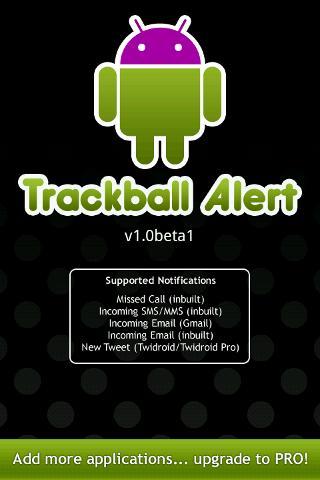 Trackball Alert