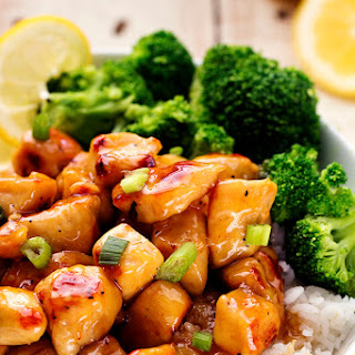 Honey Lemon Ginger Chicken