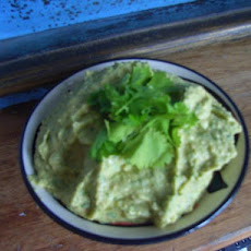 Asian Chickpea and Coriander Dip