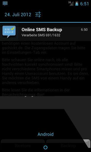 SMS Backup Restore Online