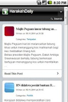 Screenshot of HarakahDaily Online