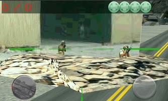 Screenshot of sniper command, airport war