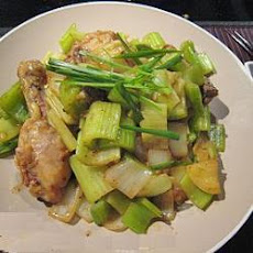 Chicken and Celery Stir Fry