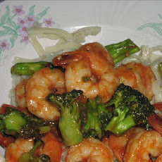 Shrimp & Broccoli in Chili Sauce (9 Ww Pts)