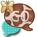 GO SMS THEME/TealGiraffe icon