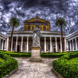 Statue of Saint Paul in Rome by Agatanghel Alexoaei - Buildings & Architecture Other Exteriors