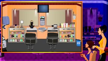 Screenshot of Trendy Salon Escape