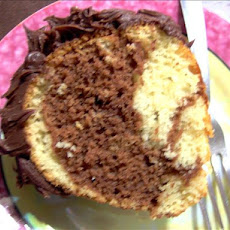 Chocolate Intrigue Marble Cake