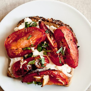 Roasted Tomato Tartine