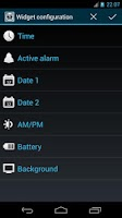 Screenshot of DIGI Alarm Clock