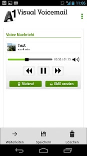 A1 Visual Voicemail - screenshot
