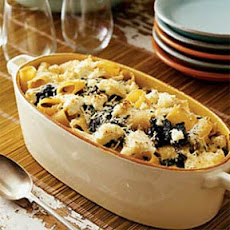 Baked Rigatoni with Ricotta and Collard Greens