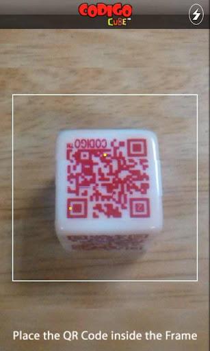 Reader for Codigo Cube