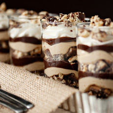 Tagalong Peanut Butter Parfaits