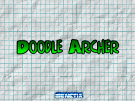 Screenshot of Doodle Archery