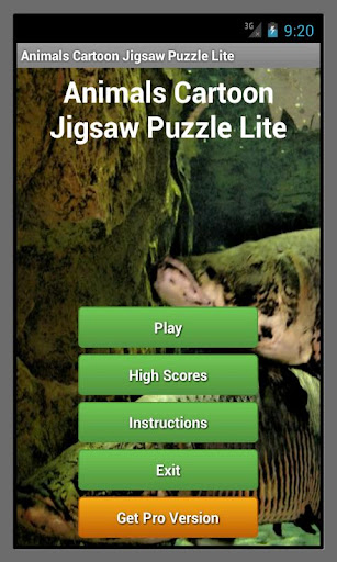 Animals Cartoon Puzzle Lite
