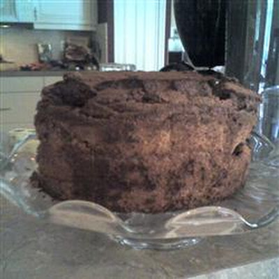 Cocoa Angel Food Cake