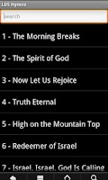 Screenshot of LDS Hymns