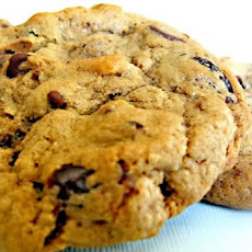 Cherry- Chocolate Chip Cookies