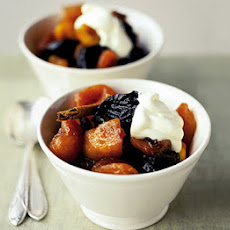 10-minute Winter Fruit Compote