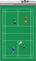 Screenshot of Badminton Tactics Board Lite