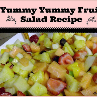 Yummy Yummy Fruit Salad