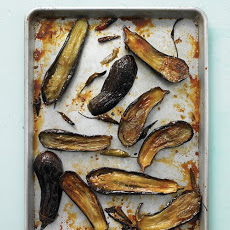 Honey-Roasted Eggplant with Chiles