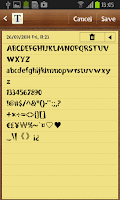 Screenshot of Burweed FlipFont