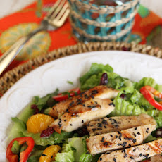 Caribbean Salad with Sweet Orange Vinaigrette