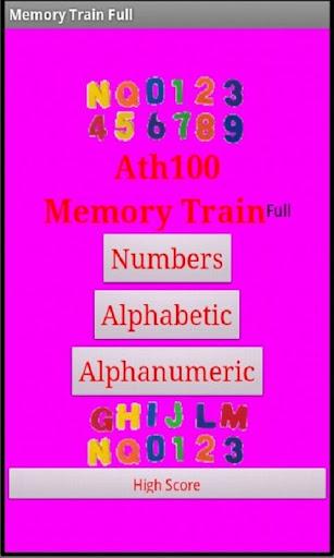 Memory Train Full