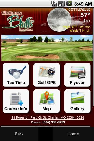 Missouri Bluffs Golf Club