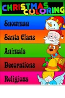 Screenshot of Christmas Coloring For Kids