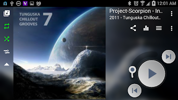 Screenshot of Muzecast Free Music Streamer