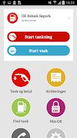 Screenshot of OK-appen - Tank & Betal