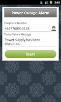 Screenshot of Power Outage Alarm Free