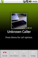 Screenshot of CallCam Lite