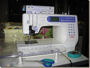 Janome Sewing Machine Feb 2008
