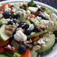 Rainbow Salad with Feta Cheese