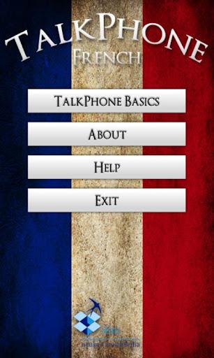 TalkPhone French Basics