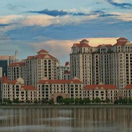 Singapore high rise.. by Osija Anolak - Buildings & Architecture Homes (  )
