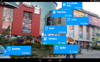 Screenshot of World Around Me Lite - Lens