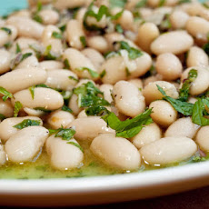 Serious Salads: White Bean and Mint Salad with Lemon Vinaigrette