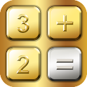 CoolCalc-Gold/Silver icon