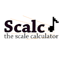 Scalc, the scale calculator icon