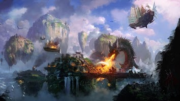 Screenshot of Dragon Wallpapers HD - Fantasy