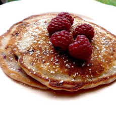 Lemon-Raspberry Pancakes